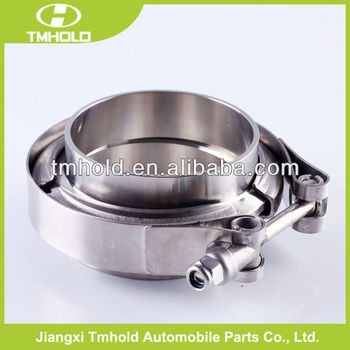 304 stainless steel all types of 1.5 v-band groove drive hose clamp for tubing muffler pipes