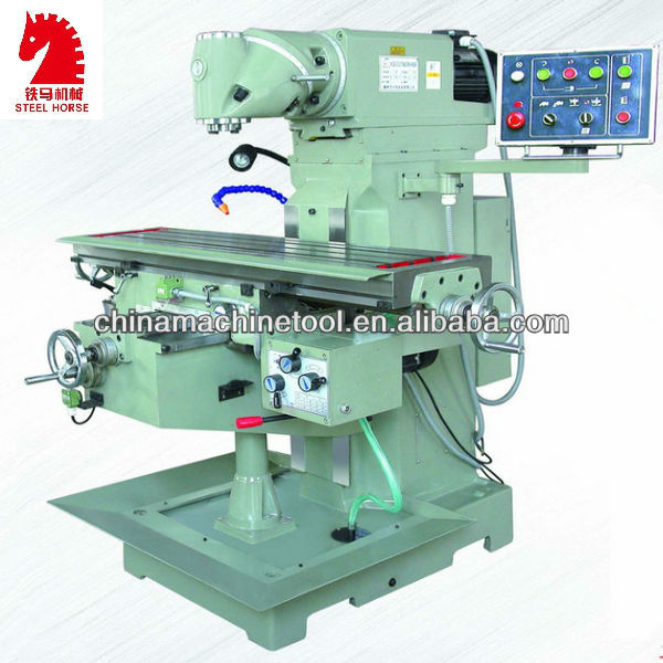 XQ6232 universal swivel head milling machine lubrication