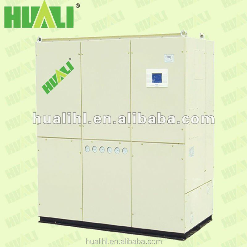 CE Approved Water Cooled Packaged Air Conditioner Cabinet Air Conditioning