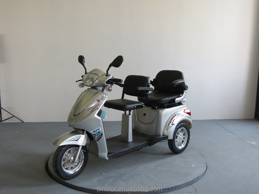 High quality double seat 600w 60v electric mobility scooter