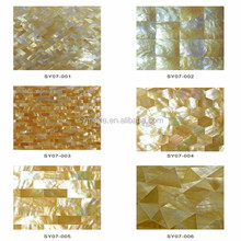 Mother of pearl shell mosaic for bathroom decoration