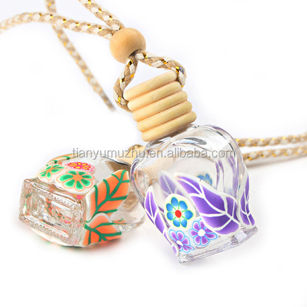 Good quality hanging car empty perfume bottle