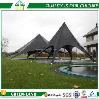 Professional aluminum large pvc cover event star tents for sale