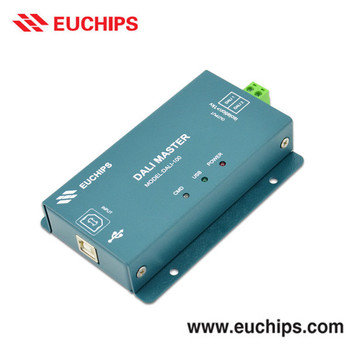 CE Shanghai Euchips 5vdc 25mA 1 channel dali master controller
