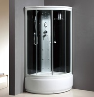 mobile complete enclosed shower steam
