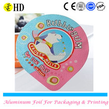 Disposable k-cup aluminum foil lid for yogurt/water/juice/food packaging