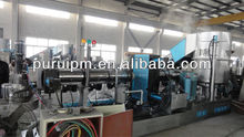 printed BOPP film plastic extruder production line