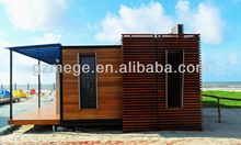 40ft foldable villa modified shipping container