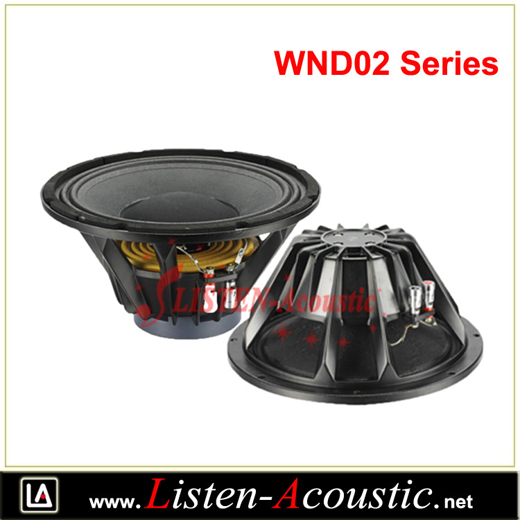 "WND02 Series PA Power Speaker Woofer 10""12""15"""