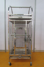 High Quality Real Stainless Steel Folding Big Bird Cages