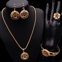 Dubai New Gold Chain One Gram Gold Jewelry Girls Party Dresses Costume Jewelry