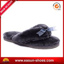 Sheep wool home Wide boots Modern slippers