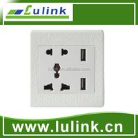 Factory price of portable smart home EU USB portable socket outlet
