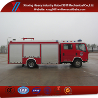 Top Selling Product 4*2 Euro4 Mini Fire Fighting Foam Truck