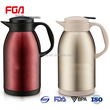 New arrived 1.2 litre Vacuum Flask jug 304 stainless steel coffee pot