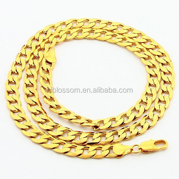 new design fashion 316 stainless steel gold chain for men