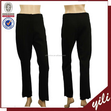 Wholesale clothing women's black balloon new design formal pants designs