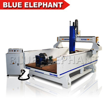 4 axis robot cutting milling drilling cnc wood engraving machine for sale