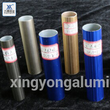 Fully stocked 6063 T5 T6 round color anodized aluminum extrusion alloy pipe/color aluminum tubing