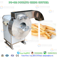 FC-502 industrial automatic electric potato french fry chip cutting chopping shredding cutter machine equipment manufacturer
