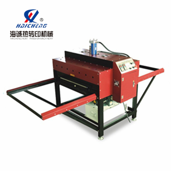 large formate heat transfer machine for sports wear
