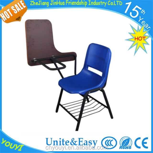 2018 factory new style school desk and chair modern classroom student furniture for sale