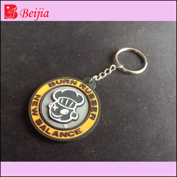 Souvenir giveaway gift customized soft rubber keyholder,promotional pvc keychain,silicone keyring for advertising