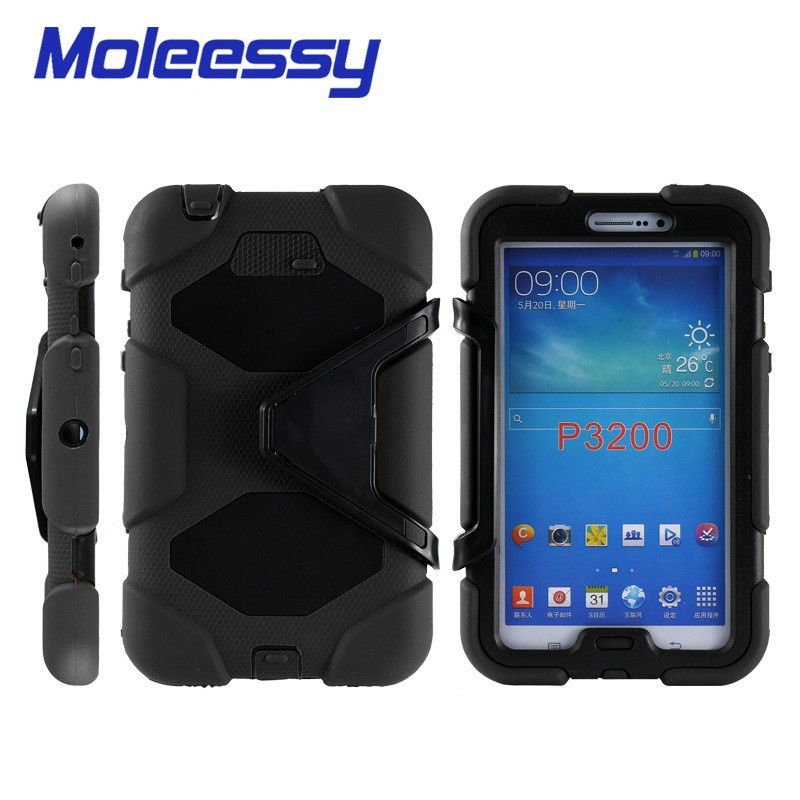 heavy duty rubber case for android tablets for Samsung tab 3/p3200/3201