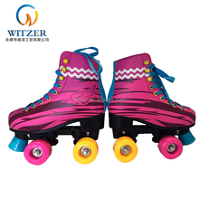 high quality detachable skates white/black quad roller skate