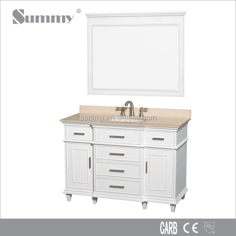 Solid Wood vanity of furniture unit prices bathroom / Plywood, MDF are available SV15227