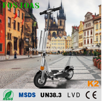 2016 newly E bike Fosjoas K2 Electric scooter for all customer with App wifi