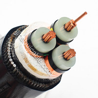 0.6/1KV power cable cu/xlpe/swa/pvc 95mm2 steel wire armoured cable