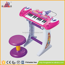 Toys wholesale kids cheap toy from china plastic electronic toys piano with microphone