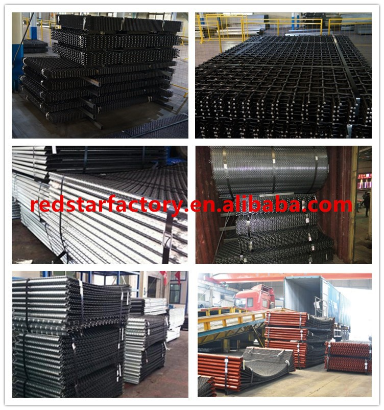 High Anti-impact Steel Screen Mesh for Gabbro Aggregate