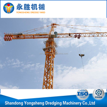 High quality building construction derricks tower crane from China Manufacturer