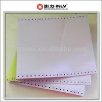Hight Quality Papel Autocopiativo 3-layer Computer Printing Paper
