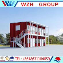 Nice looking in elegant design container house, house container