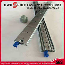 BWD3076L-46 Hettich dtc 533 drawer slides,heavy duty under mount mini ball bearing drawer slides