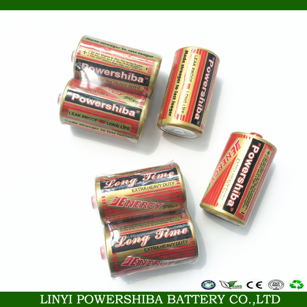 1.5V High Energy Leakproof R20 D Size Dry Battery