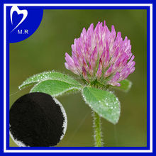 fatory price of red clover powder extract flavone8% - 40% in stock, high quality Organic Sweet Red Clover Extract for antibiotic