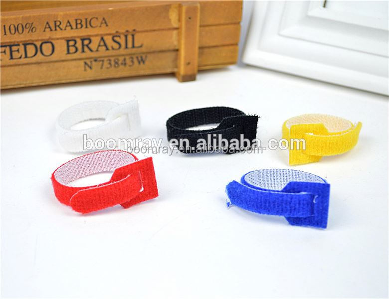 1 dollar wholesale Nylon magic tape cable organizer slogan mobile phone accessories case
