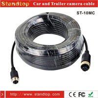 10 Meters cable electrical power extension with 4 pin aviation connector