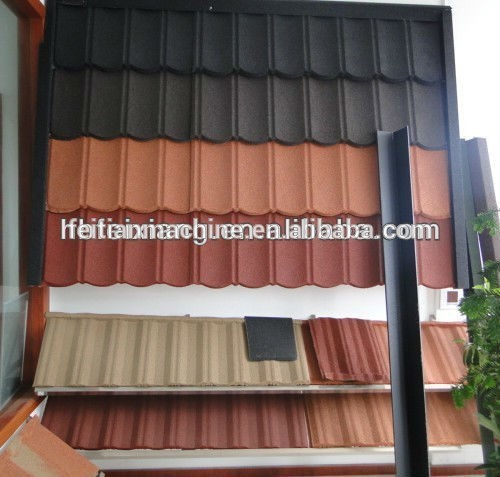 Feixiang Feitian Stone Coated Metal Roof Tile Making Machine popular in Africa