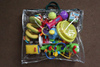 Large Strong Clear Plastic Zipped handle Toy Storage Camping Bags
