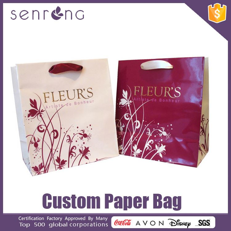 strong kraft paper bag thin paper bag