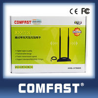 COMFAST CF-WU7300ND 2014 Newly Excellent 300Mbps 802.11n wireless wifi usb adapter with double 10dBi Antenna