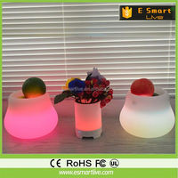 USB charge bluetooth speaker flexable led study lamp