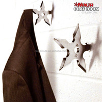 Brand New Star Weapon design Silver color decorative wall hook