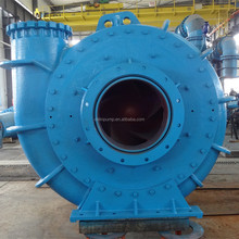 Dredging gravel and sand pump with anti-abrasive material