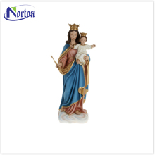 Factory price lifelike fiberglass virgin mary statue NTBM-576A